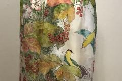 """№20 Шаль """"Птахи в калині"""" (1800Х800 см, 100% шовк, шифон)."""