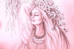 """До вірша """"Рожеві мрії"""""""