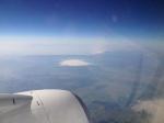 Лечу в самолете.