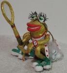 Лягушка-теннисистка