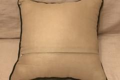 №3 подушка диванна, льон, розмір 45Х45 см.