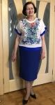 №5 Блуза-мальованка