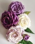 №65. Розы из фоамирана