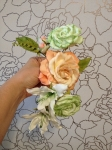 №56. Розы из фома