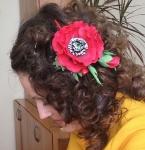 №1. заколка для волос